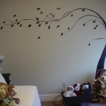 About Painting Walls This Simple Tree That Painted Freehand