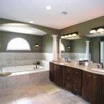 Above Section Elegant And Great Bathroom Paint Colors Ideas