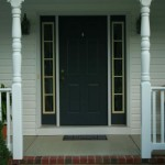 After Red Door White Sidelights