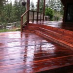 All Slicked Superdeck Transparent Stain Redwood