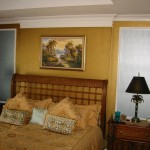 And Chic Gold Metallic Wall Paint Colors For Traditional Bedroom Image