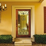 Attractive Exterior Steel Doors Painting Ideas