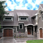 Awesome House Choosing Exterior Paint Color Wooden Garage