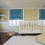 Baby Room Painting Ideas Blue Curtains And Dolls