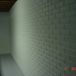 Basement Walls Painted Ugl Semi Gloss Finish