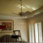 Becoming Bootylicious Painting Tray Ceiling
