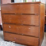 Before After Chest Drawers Gets Paper Sourced Fine Diving