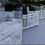 Before And After Deck Paint Job Maple Grove