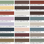 Behr Paints Chip Color Swatch Sample And Palette
