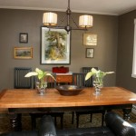 Benjamin Moore Paint Texas Leather Dining Room