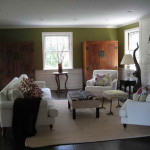 Best Color Paint Living Room Green Wall
