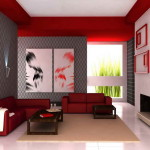 Best Color Paint Living Room Red Themes