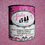 Bling Glitter Wall Paint Voc Environmentally Friendly Princess