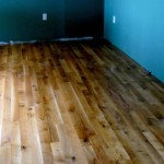 Blue Interior Painted Wall Natural Cheap Hardwood Flooring Ideas Image
