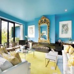 Blue Painted Ceiling Via Conspicuousstyle Proof That Colors Read