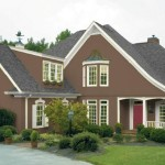 Brown Off White Exterior Paint Colors