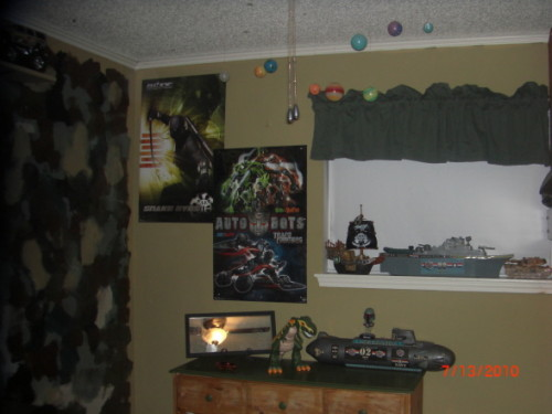 Camo Boys Bedroom Loft Bed And Camoflauge Feel Rooms