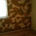 Camo Room Painted Design Year Olds Give More