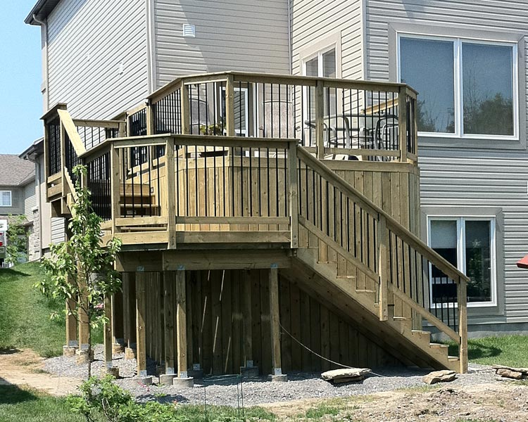 Can Standard Trex Composite Decking And Railing Painted Yes You