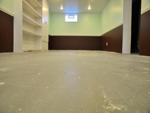 Captivating Above Section How Paint Concrete Floors