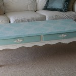 Chalk Paint Coffee Table Project