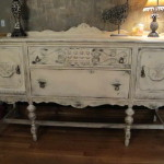 Chalk Paint Furniture Style Carving