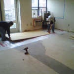 Cheap Chic How Install And Paint Plywood Floors
