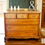 Chest Drawers Before Refinishing Chalk Paint Annie Sloan