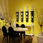Choose Paint Color Online For Yellow Dining Room