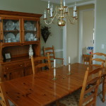 Client Had Dated Wood Dining Room Furniture And Limited Budget