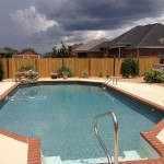 Colorful And Interesting Pool Deck Paint Ideas