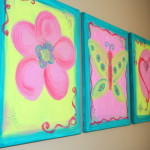 Colorful Canvas Paintings