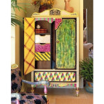 Colorful Hand Painted Furniture Ideas