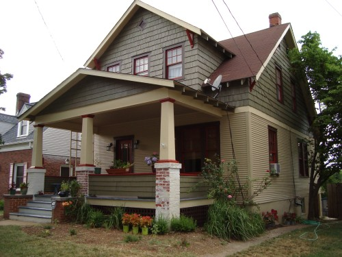 Colors For Historic Virginia Bungalow