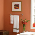 Comfortable Peach Color For Bathroom