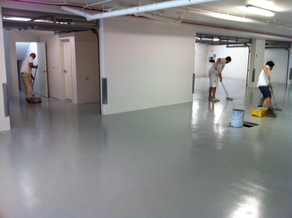 Commercial Pac Epoxy Floor Painters