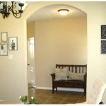 Considering Leaving Those Two Walls That Flank The Archway Beige