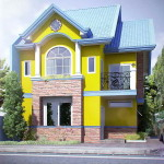 Contemporary Exterior House Paint Colors