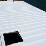 Cool White Reflective Roof Coating