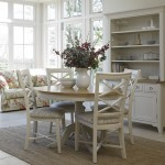 Cottage Oak And Painted Dining Room Furniture