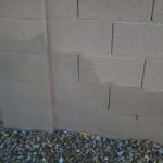Covering Exterior Concrete Block Wall