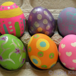 Creating Painted Eggs Not Quite Simple Looks