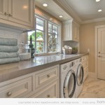Creative Design And Paint Color Laundry Room Ideas