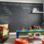 Creative Interior Decorating Ideas Black Chalkboard Paint Projects