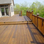 Deck Staining Will Offer Your Older Decks More Bolder Newer