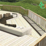 Decking Has Lighter More Natural Wood Appearance For Better Paint