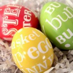 Decorating Ideas For Easter Subway Art Eggs