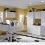 Design And Paint Color Laundry Room Ideas Yellow Decor