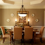 Dining Room Color Ideas Classic Brown