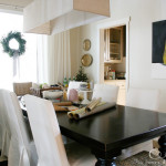 Dining Room Table Pear Painting